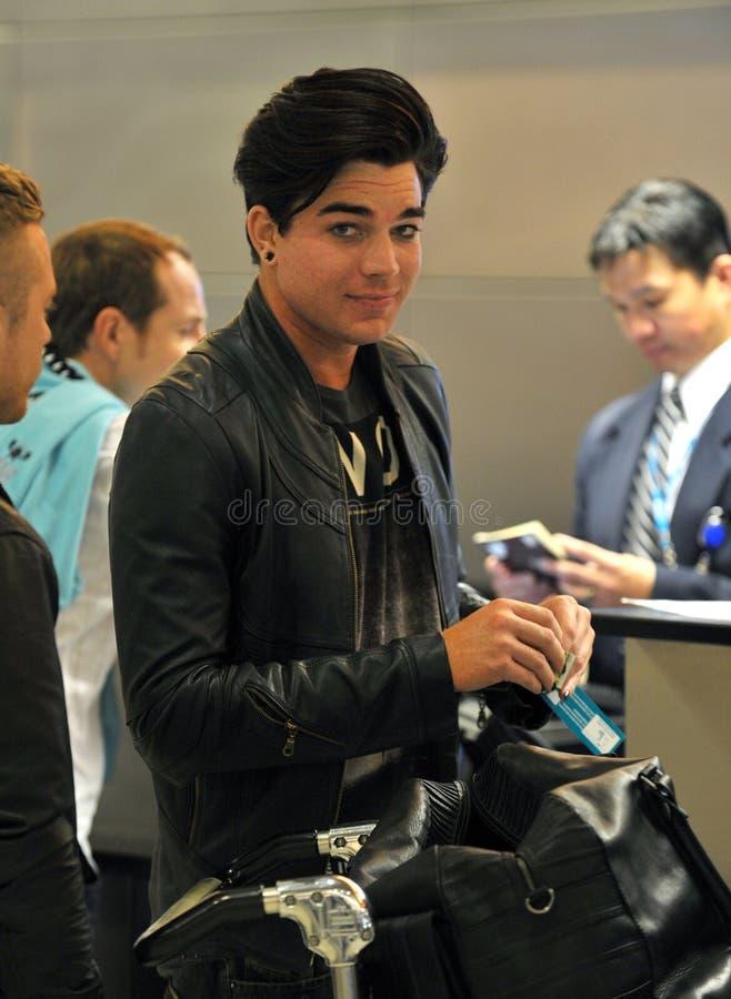 adam lotniskowy Lambert rozwolnienie widzieć piosenkarz obrazy royalty free