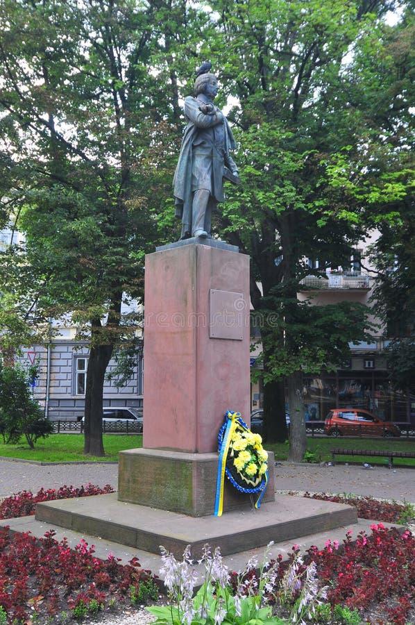 Adam Mitzkevich - Ivano-Frankovsk, Ukraine image libre de droits