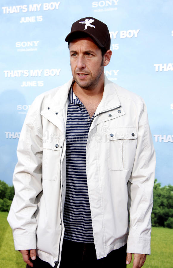 Adam Sandler royalty-vrije stock foto's