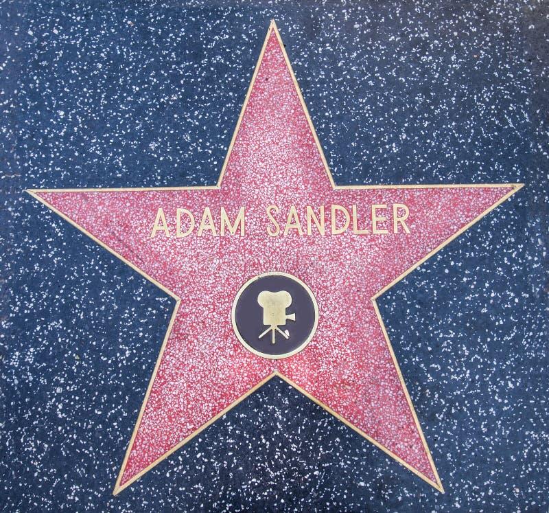 Adam Sandler-ster royalty-vrije stock foto