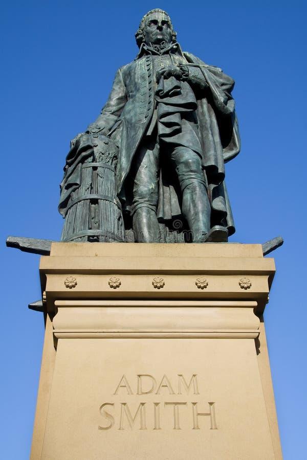 Adam Smith, miglio reale, Edinburgh, Scozia fotografie stock