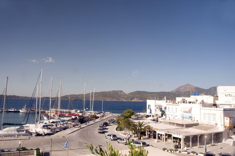 Download Adamas Milos Greek Island Harbor View Editorial Image - Image: 25482635