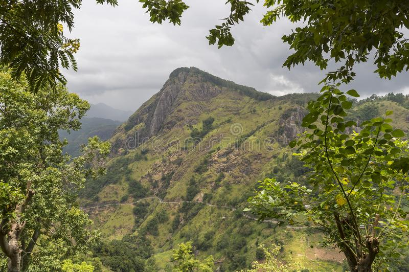Adams-Spitze Ella, Sri Lanka stockfoto