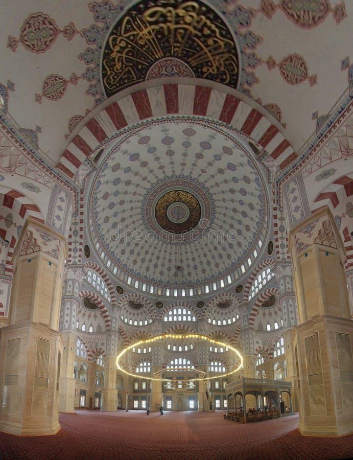 Adana środkowy meczet wśrodku fotografia royalty free