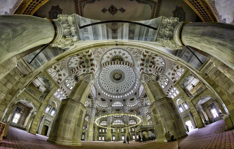 Adana środkowy meczet wśrodku zdjęcie stock