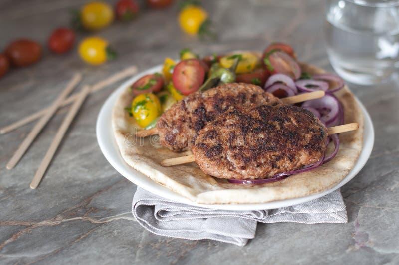 Adana Kebab fotografia stock