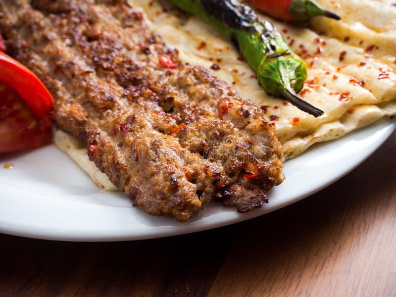 Adana Kebab obraz royalty free
