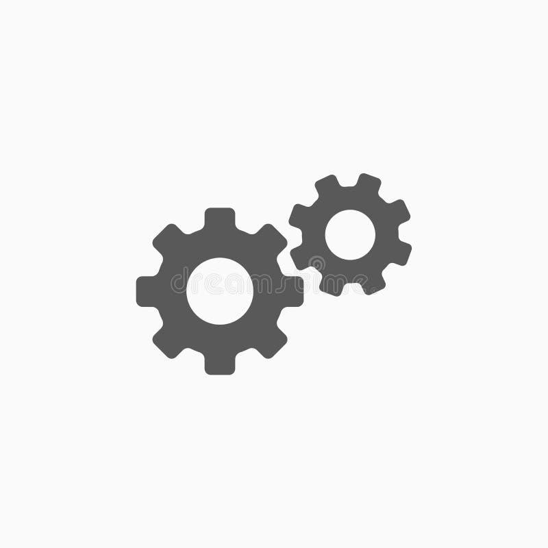 Adapta el icono, herramienta, equipo, maquinaria, aparato, hardware stock de ilustración