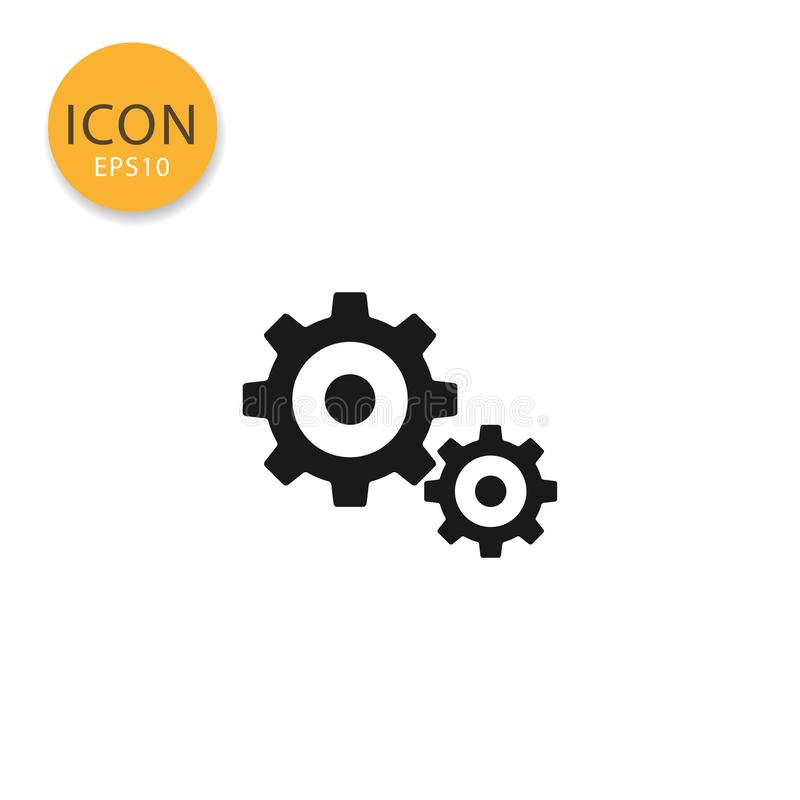Adapta estilo plano aislado icono ilustración del vector