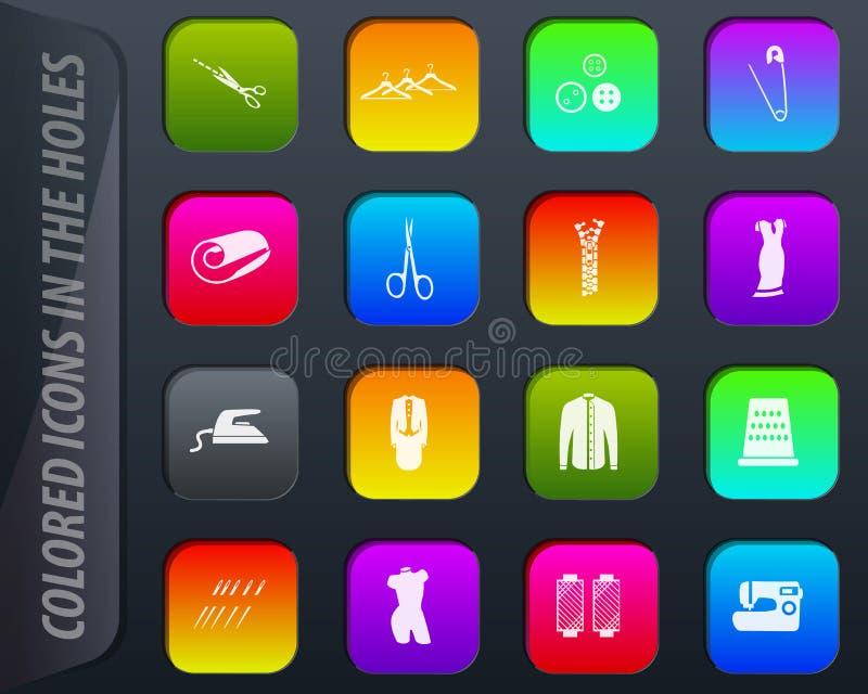 Adaptación de iconos del vector libre illustration