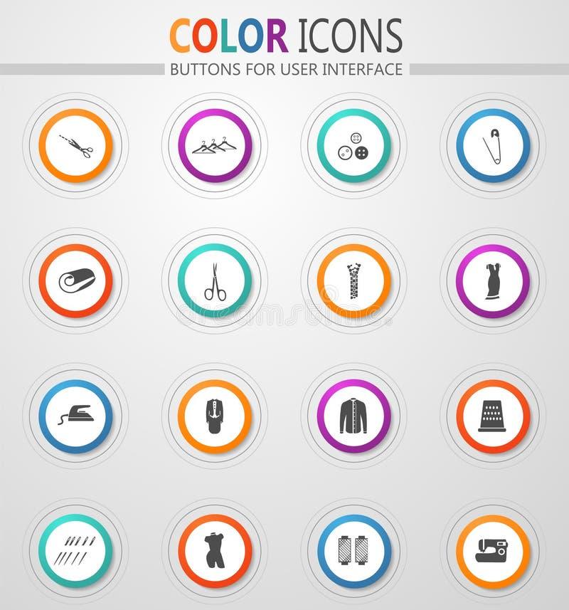 Adaptación de iconos del vector ilustración del vector