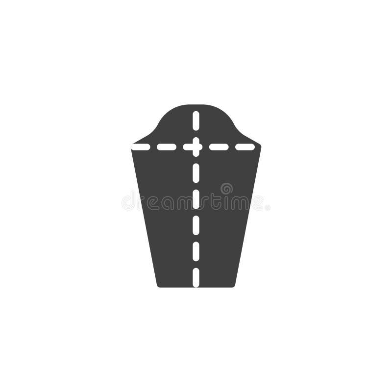 Adaptación, icono del vector de la tela libre illustration