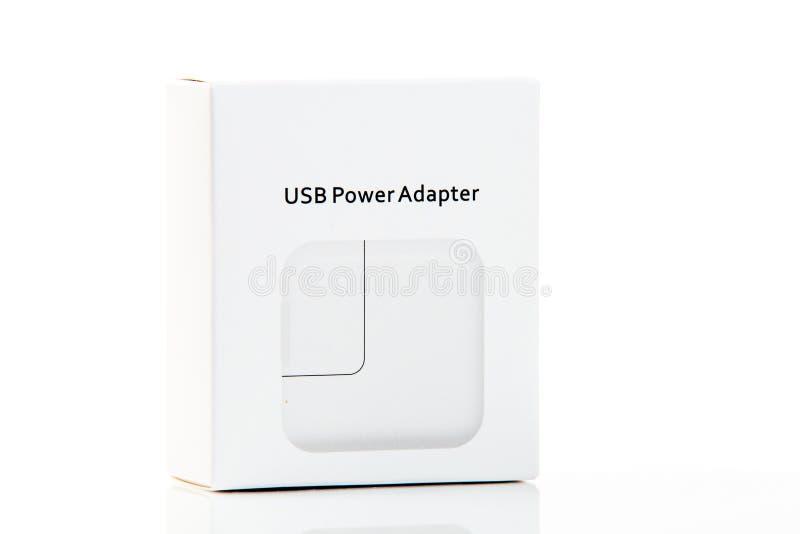Adaptador do poder de USB fotos de stock royalty free