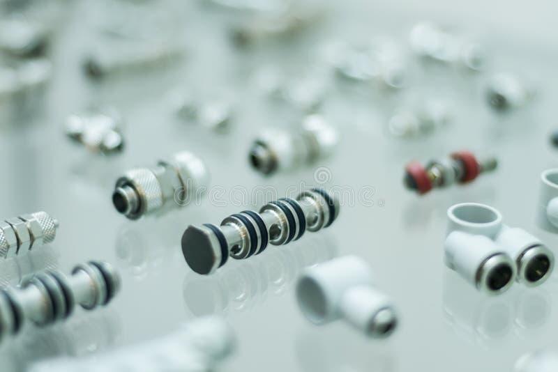 Adaptadores pneumáticos fotos de stock