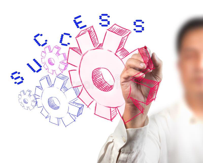 Adaptation d'affaires à la réussite image stock