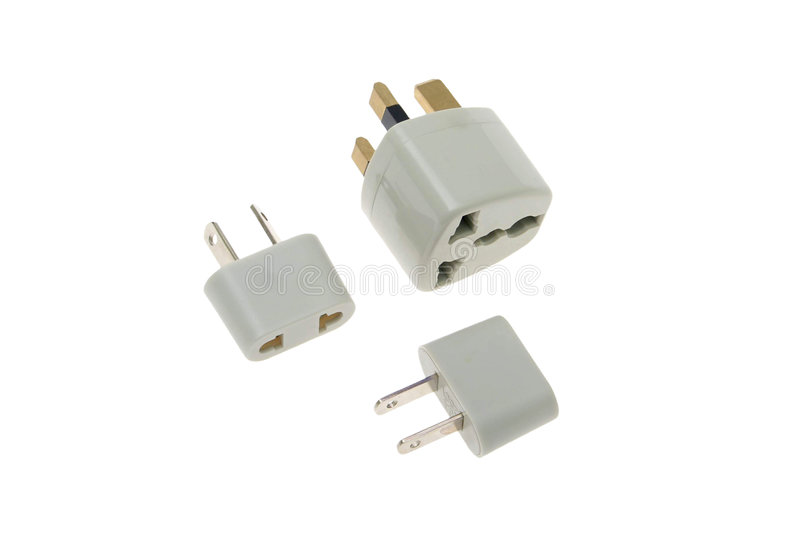 Adapter connector royalty free stock image