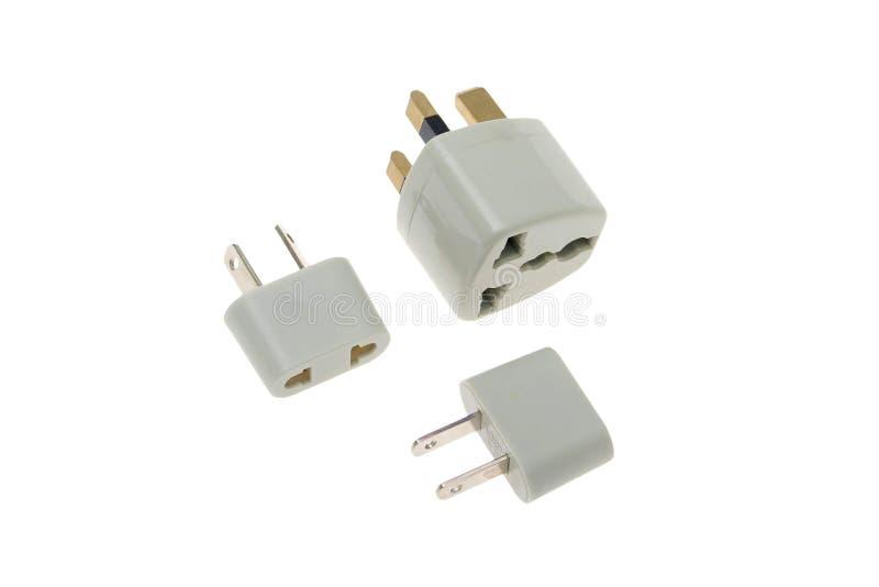 Adapterverbinder lizenzfreies stockbild
