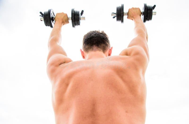 adaptez votre corps et perdez le poids Fuselage sportif Gymnase d'halt?re ?quipement de forme physique et de sport halt?rophilie  photos libres de droits