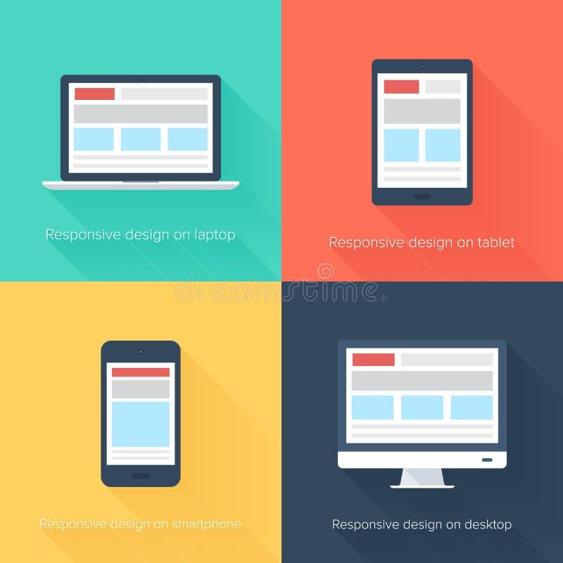 Free Adaptive Web Design Royalty Free Stock Images - 38476579