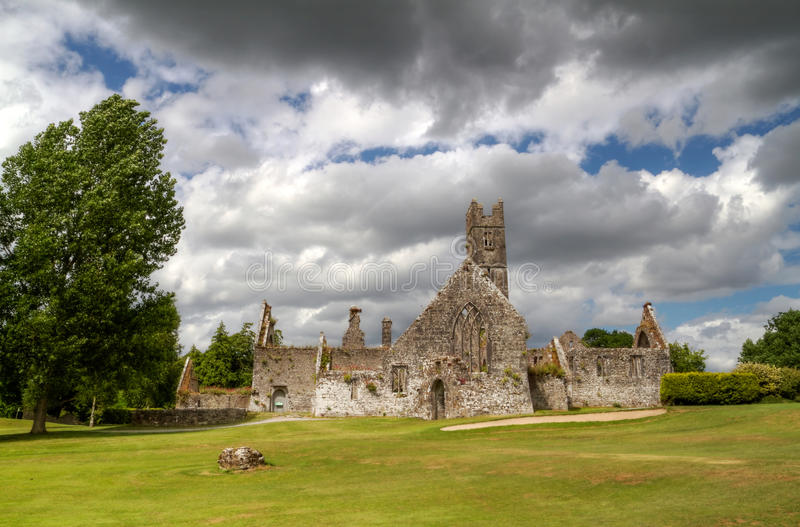 Download Adare Abbey stock image. Image of grey, cashel, gothic - 15386251