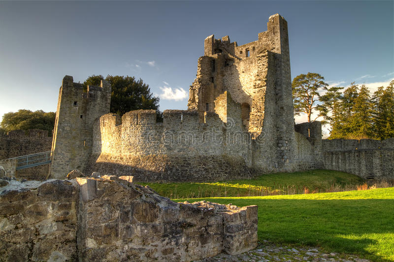 Download Adare Castle - HDR stock photo. Image of fort, landmark - 18602992