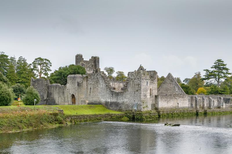 Adare Desmond Castle, Ierland royalty-vrije stock foto