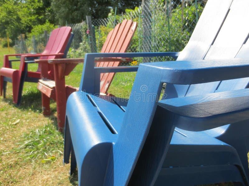 Adaronic krzesła obraz stock