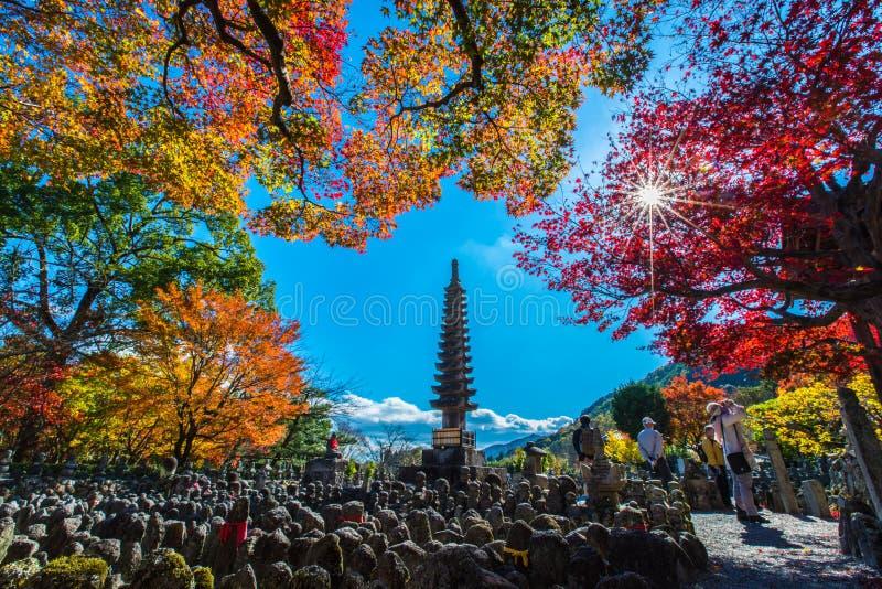 Adashino Nenbutsu籍寺庙,东京 免版税库存照片