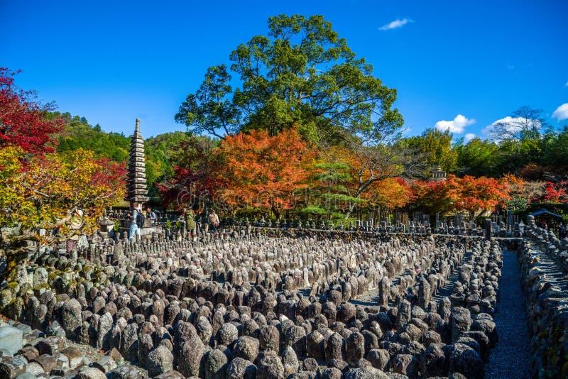 Adashino Nenbutsu籍寺庙,东京 免版税库存图片