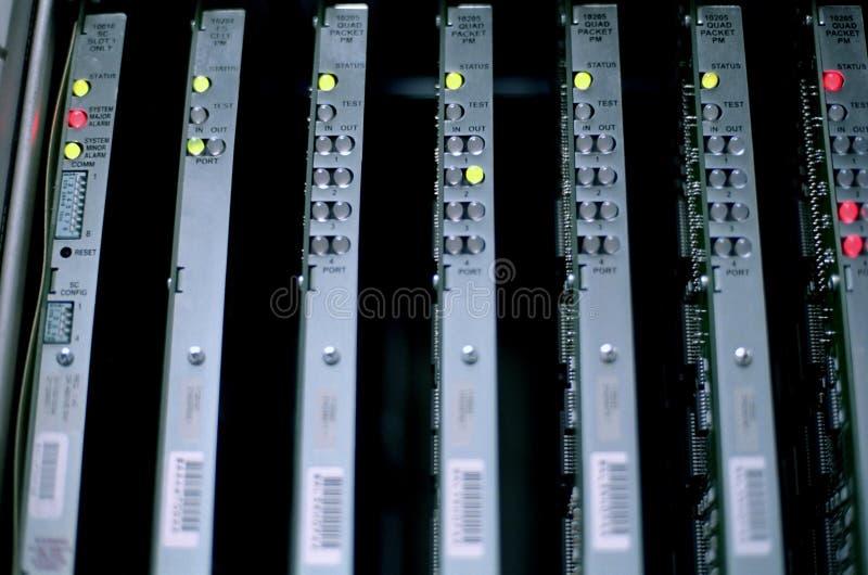 adc设备网络 免版税库存图片