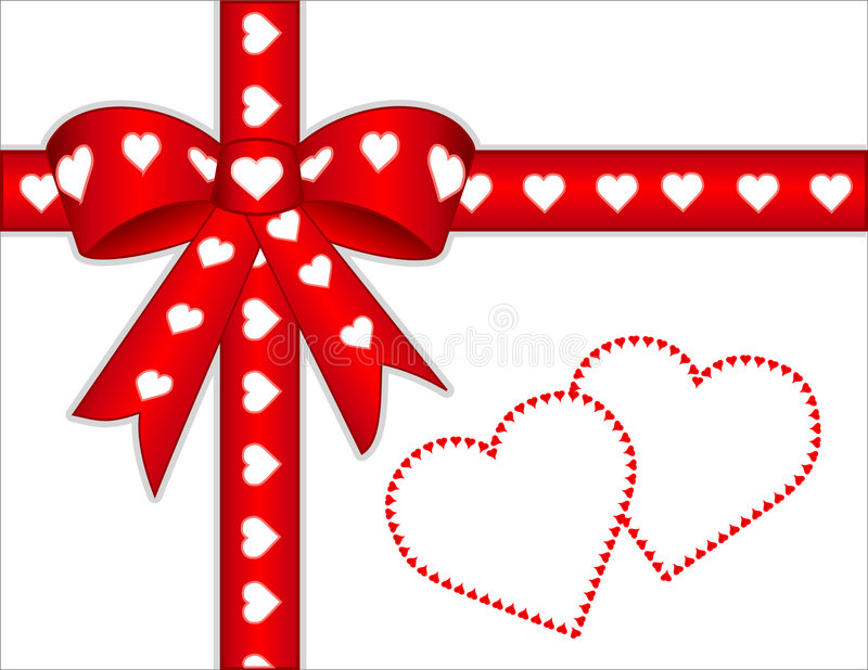 add hearts message present to you your stock illustrationer