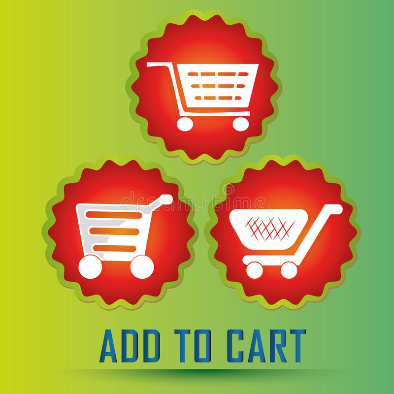 Download Add to cart stock vector. Image of circle, reserve, retail - 37272903