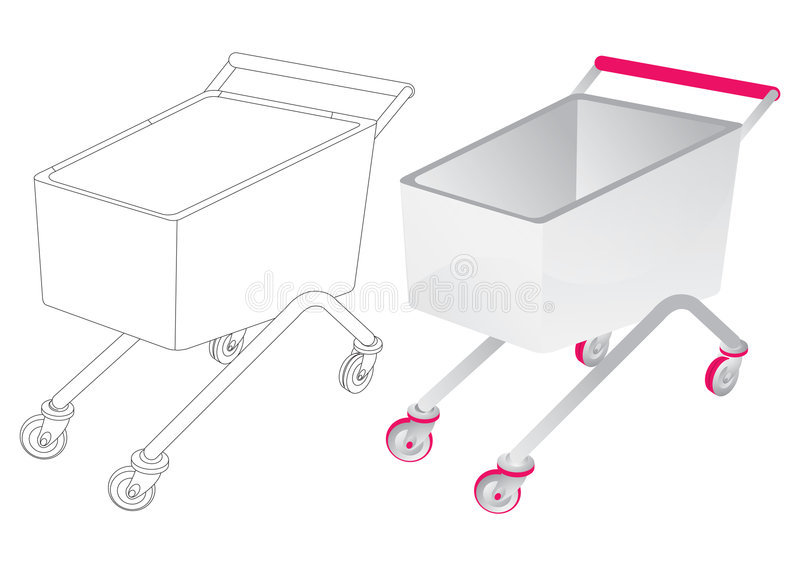 Add To Cart - Vector Stock Image
