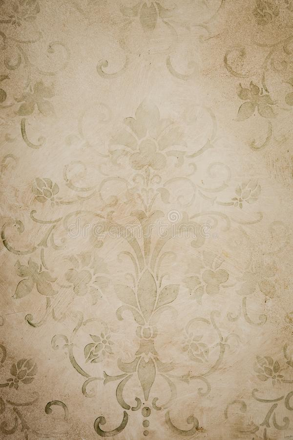Vintage Wallpaper Pattern 1053 royalty free stock photography