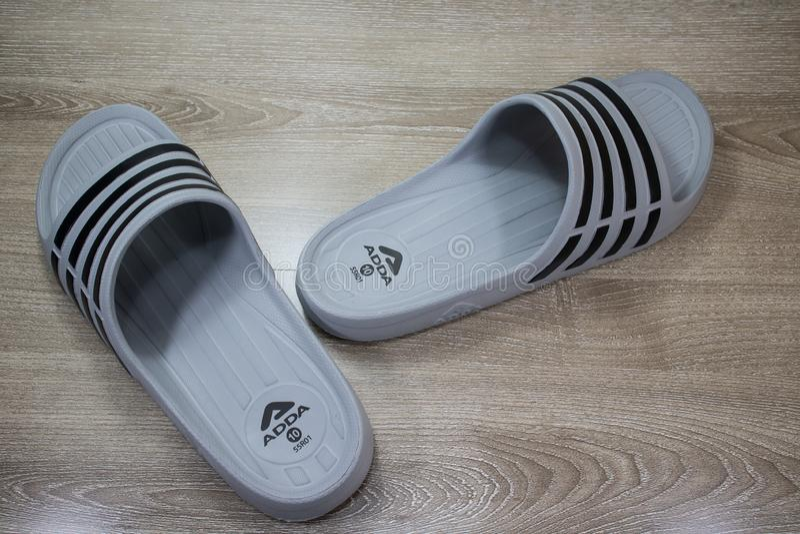 ADDA Shoe, Product of thailand royalty free stock photos