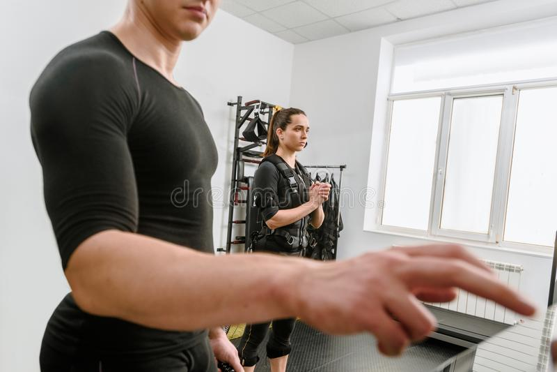 Addestramento aspettante di SME fotografie stock