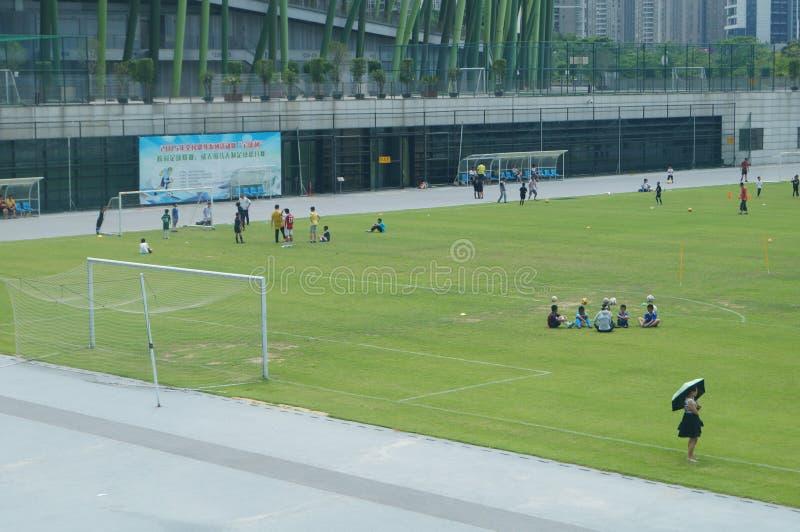 Download Addestramento Cinese Del Calcio Dei Bambini Immagine Stock Editoriale - Immagine di esercitazione, asia: 55362229