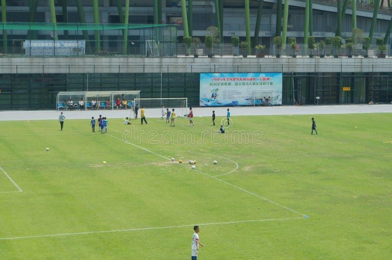 Download Addestramento Cinese Del Calcio Dei Bambini Fotografia Stock Editoriale - Immagine di addestramento, esterno: 55363143