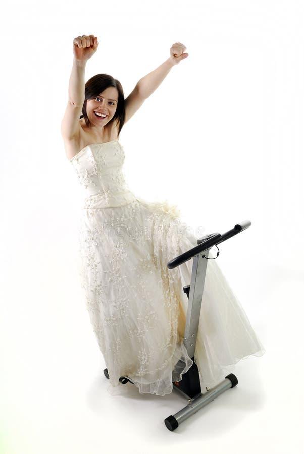 Addestramento della sposa immagini stock libere da diritti