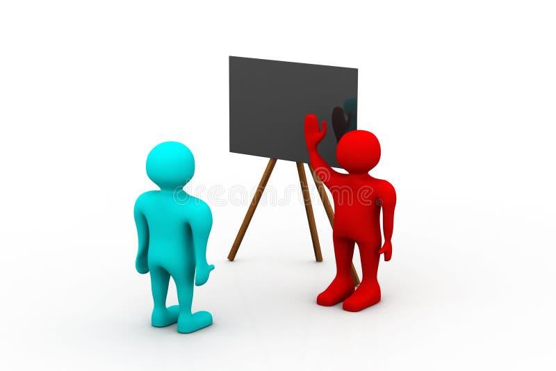 Addestramento di affari illustrazione vettoriale