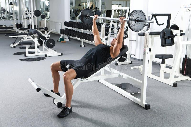 Addestramento di ginnastica immagini stock libere da diritti