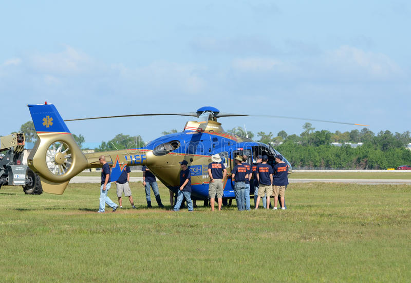 Addestramento medico della squadra di soccorso fotografie stock