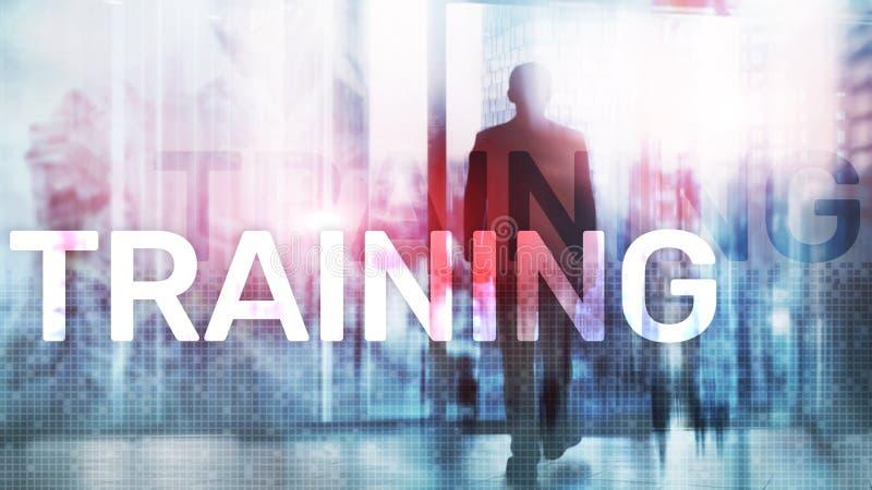 Addestramento Sviluppo personale Affare e istruzione, concetto di e-learning illustrazione vettoriale