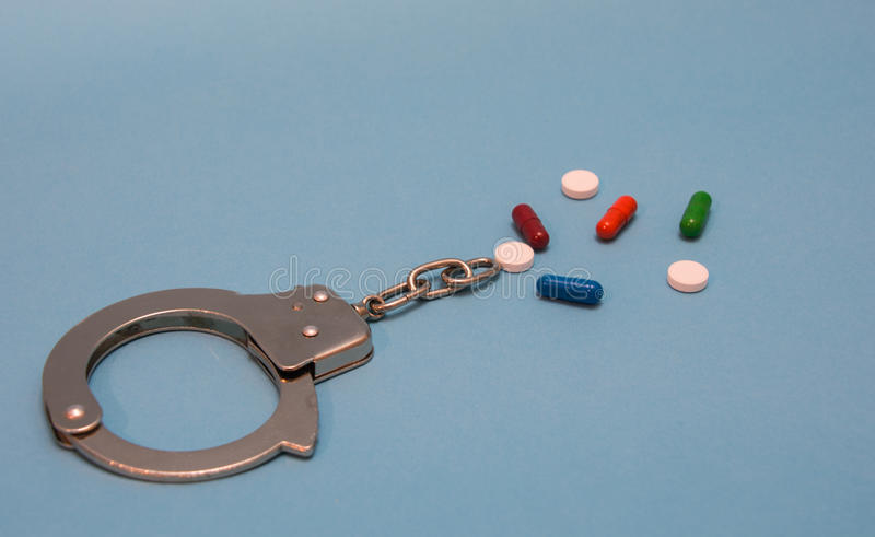 Addicted to drugs royalty free stock photos