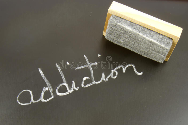 Erasing Addiction Stock Photos