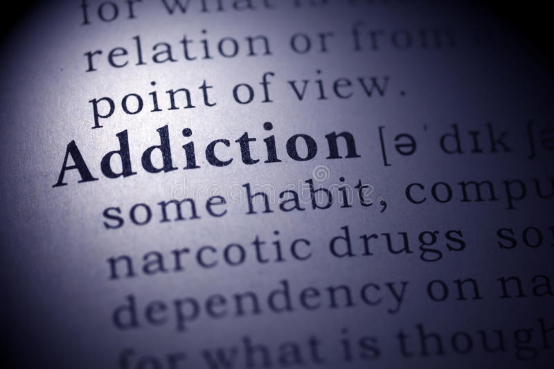 Addiction royalty free stock images