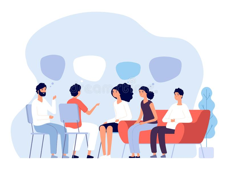 Group Therapy Stock Illustrations – 3,630 Group Therapy ...