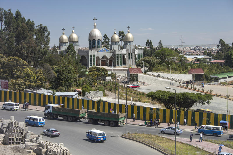 Addis Ababa royaltyfria foton