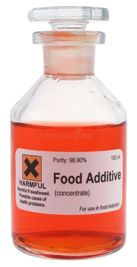 Additief voor levensmiddelen stock afbeelding