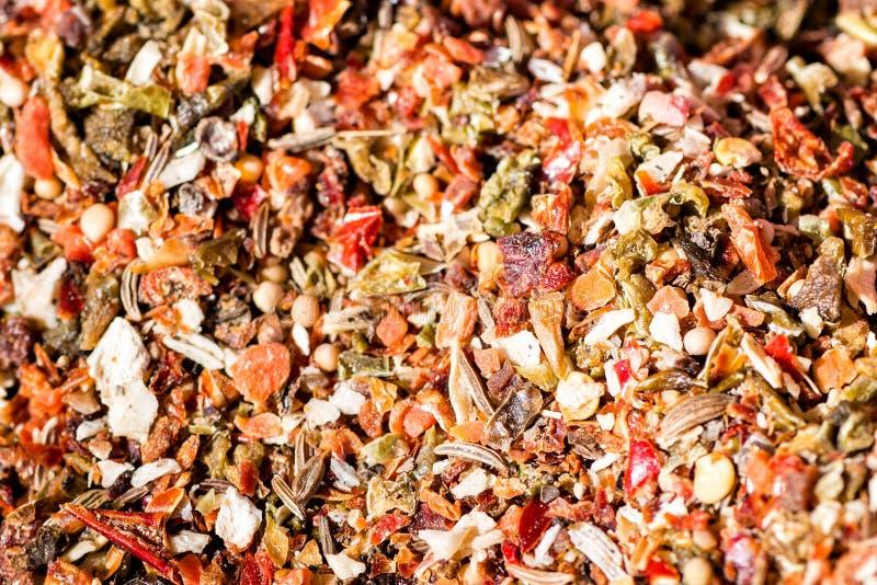 Additief voor levensmiddelen Diverse kruiden royalty-vrije stock afbeelding